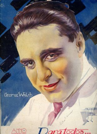 Paratodos, Anno V, Numbero 218, 1923, Featuring George Walsh. Brazil Film, George Walsh, Spanish