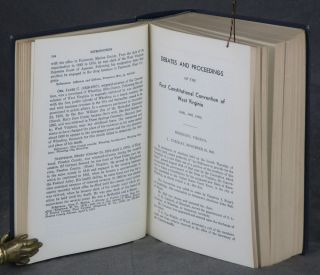 Debates and Proceedings of the First Constitutional convention of West Virginia (1861-1863), Volume I (This Volume ONLY)