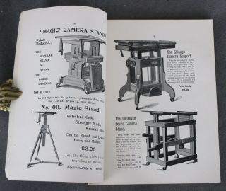 Catalogue of Photographic Sundries, 1899