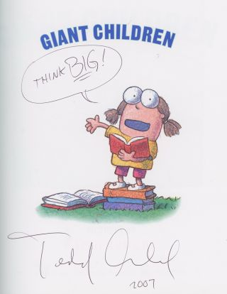Giant Children, Inscribed by Tedd Arnold