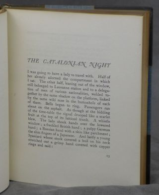 Open All Night, SIGNED by Paul Morand, Complete in Two Volumes
