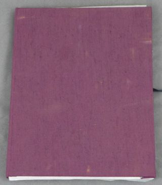 A Book of Prayers and Poems, 15 Lithographs SIGNED