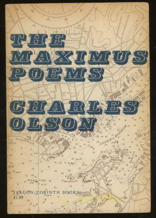 The Maximus Poems, SIGNED by Charles Olson