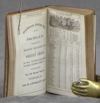 Pittsburgh and Allegheny County Almanac, Being a Business Directory of Pittsburgh, Allegheny, Lawrenceville, Manchester, and Surrounding Boroughs; Also, Calendar for 1867, Business Statistics of Allegheny Co, and Directory of City and State Governments, Schools, Churches, Societies, &c. &c.