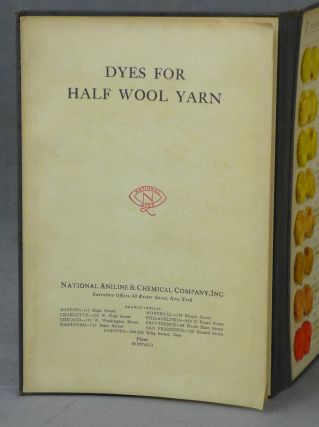 Dyes For Half Wool Yarn