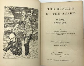 The Hunting of the Snark, an Agony in Eight Fits