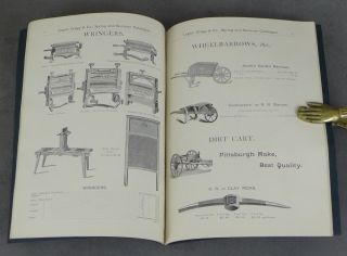 Logan, Gregg, and Co. Hardware Catalogue, Spring 1894