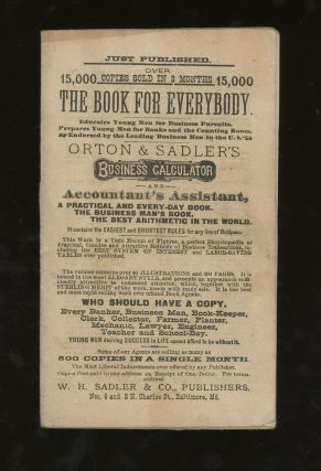 Orton and Sadler's Business Calculator and Accountants Assistant, A Cyclopaedia...