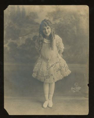 Signed Photograph of Mary Pickford