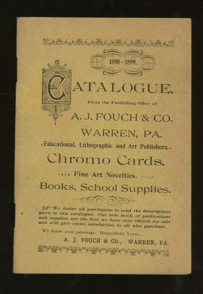Catalogue from the Publishing Office of A. J. Fouch &...
