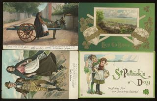 Group of 15 Ireland and Irish Themed Postcards