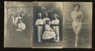 16 Circus and Troupe Postcards. Troupe Circus, Photography, Postcard, Entertainment
