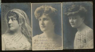 16 Circus and Troupe Postcards