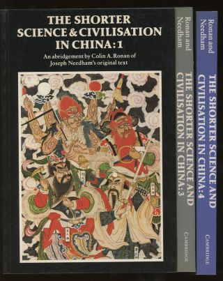 The Shorter Science and Civilization in China, an Abridgment of...