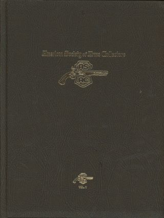 American Society of Arms Collectors Cumulative Index, Volume I: Bulletins...
