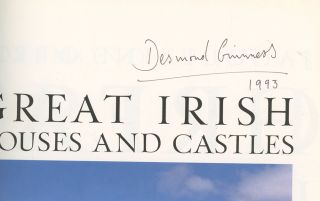 Great Irish Houses and Castles, Signed by Desmond Guinness