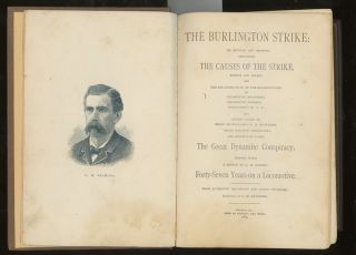 The Burlington Strike: Its Motives and Methods, Including The Causes...