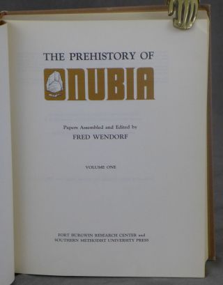 The Prehistory of Nubia, Complete in Two Volumes