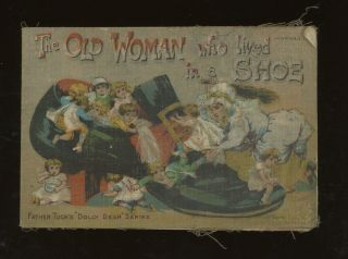 The Old Woman Who Lived In A Shoe (Father Tuck's...