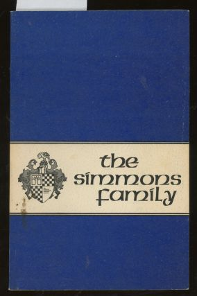 The Simmons Family. American Genealogical Research Institute
