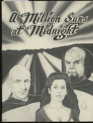 A Million Suns at Midnight, SIGNED by Jessica Farrow (Star Trek: The Next Generation Fanfiction)