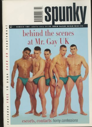 Spunky, Number Two, Mister Gay UK 1998. Bjorn Anderson