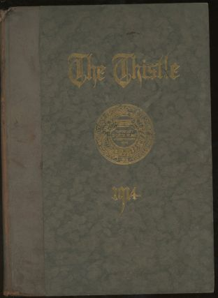 The Thistle, 1913-1914, Yearbook For Carnegie Institute of Technology. Carnegie Institute of...