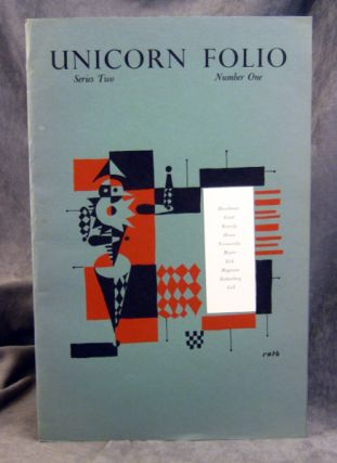 UNICORN FOLIO Series Two, Number One. Günter Eich, Yvan Goll, Anne Hyde Greet, Jack...