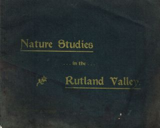 Nature Studies in the Rutland Valley (Rutland, Vermont). L. F. Brehmer