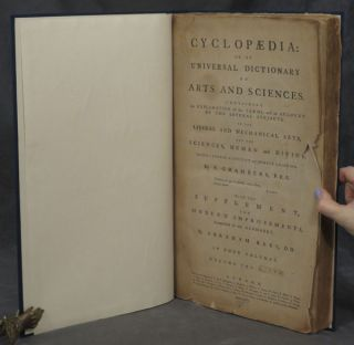Cyclopaedia: or, An Universal Dictionary of Arts and Sciences. Containing an Explanation of the Terms, and an Account of the Several Subjects, in the Liberal and Mechanical Arts, and the Sciences, Human and Divine. Intended as a Course of Ancient and Modern Learning...in Four Volumes. Volume the Fifth (plate volume only)