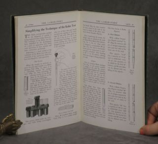 The Laboratory, Volumes 1-3 (1928-1930 newsletters from Fisher Scientific). 3 volumes.