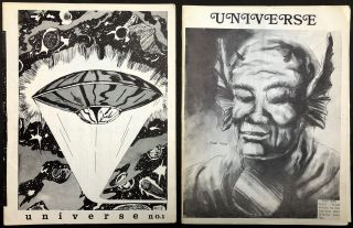 Universe Issues 1 & 2 (October 1973 and February 1974)
