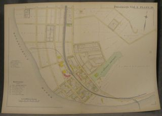 Plat Map of Pittsburgh, Including Parts of Hazelwood. Pittsburgh Maps, Hazelwood