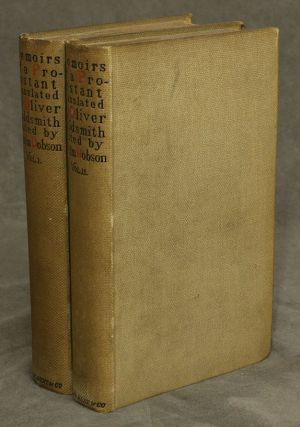 The Memoirs of a Protestant Condemned to the Galleys of France for his Religion, in Two Volumes....