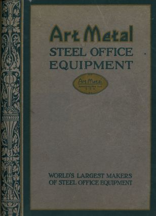 Art Metal Steel Office Equipment, Catalog Number 765. Art Metal Construction Company