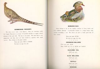 Mating List and Catalogue for Domestic and Game Fowl from Chiles and Company