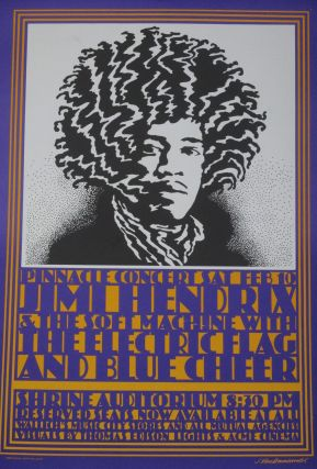 Jimi Hendrix and the Soft Machine with The Electric Flag...