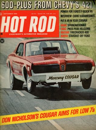 Twenty Eight Issues of Hot Rod Magazine from the 60s and 70s