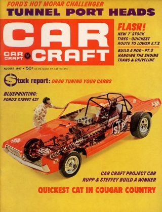 Ten Issues of Car Craft: The Automotive Go and Show Magazine from 1964-1969. John Raffa