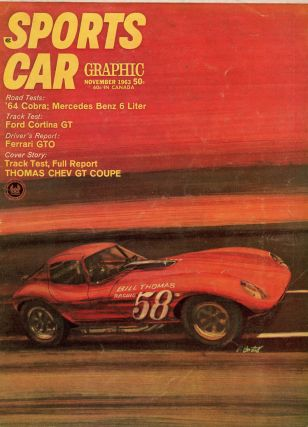 Five Car Racing Magazines, including Three Issues of Road & Track (1963, 68, 76) and Two Issues of Sports Car Graphic (1963, 64)