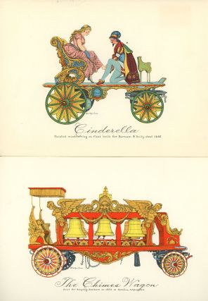 American Printbook Number Five, Old Circus Parade Wagons
