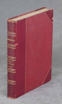 The Connoisseur, A Magazine for Collectors, September-December, 1901, Bound in One Volume. J. T....
