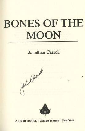 Bones of the Moon, Signed by Jonathan Carroll