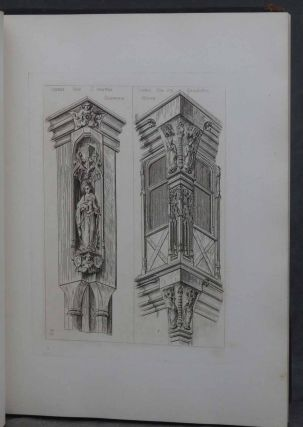 Details of Antient Timber Houses of the 15th and 16th Century, together with Gothic Furniture in the Style of the 15th Century, Designs for Gold and Silversmiths, and Designs for Iron and Brasswork of the XV and XVIth Centuries. Four Volumes Bound as One.