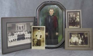 Group of 20 Photos Featuring Scenes of Polish Catholic Priesthood...