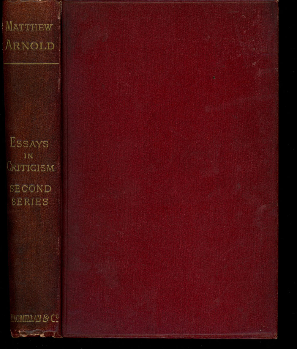 matthew arnold essays in criticism second series 91 121 113 106 matthew arnold essays in criticism second series