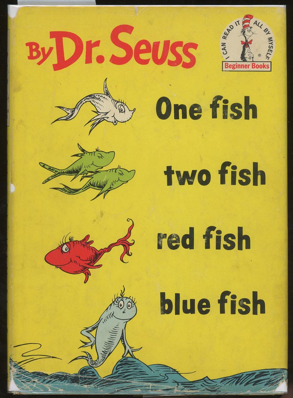 One fish two fish red fish blue fish dr seuss for Red fish blue fish book